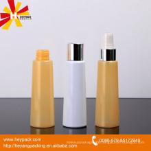 85ml half transparent yellow aluminum spray bottle