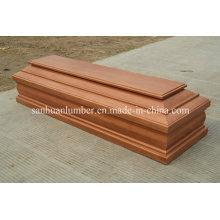 Деревянный гроб для похорон продукта (H004)