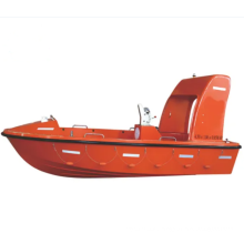 CCS Fiberglass Open Type Lifeboat Working Boat solas Fast rescue Boat