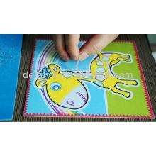 Cartoon Sand Kunst für Kinder