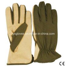 Кожаные Перчатки Нейлоновые Перчатки-Защитные Перчатки Сад Перчатки Труда Перчатки