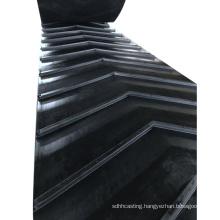 Factory supply EP rubber chevron conveyor belt incline conveyor belt