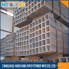Eingetauchtes galvanisiertes quadratisches Hohlprofil Stahlrohr
