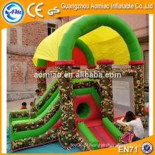 Inflável indoor playground mini inflável comba obstáculo curso vendas