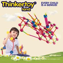 Le meilleur jeu de jouet Plastic Education Building Blocks Toys