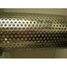 Aluminium Perforiertes Metallblech Rundloch 1mm