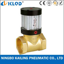 Q22HD-20 2/2 Way Piston Type Brass Material Pneumatic Steam Valve