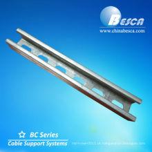Barra de aço de canal galvanizado (UL, IEC, GV e CE)