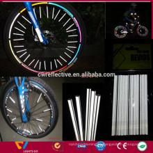 Reflectores de rodas de bicicleta para segurança