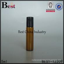 2015 new custom supplier cosmetic glass roller ball bottle wholesale