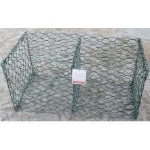 Высокое качество оцинкованная с ПВХ покрытием Gabion Wire Mesh