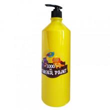 Peinture en doigt de couleur en bouteille 1000ML