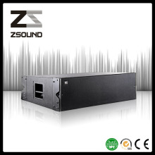 """Haut-parleur audio de rangée de haut-parleur professionnel de 12 """"double haut-parleur"""