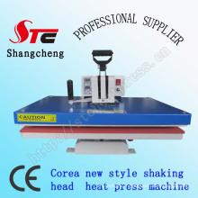 Vente de secouer la Machine de transfert de chaleur de tête chaude 40 * 50cm Corea Swing Away tête chauffer Press Machine à emboutir dorure à chaud