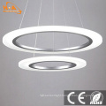 Acrylic Pendant Light Modern Round Chandelier for Home Hotel