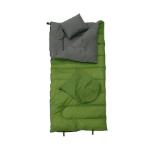 Hollow Fiber Sleeping Bag with Pillow Adult Outdoor Camping Waterproof Sleeping Bag for Adult