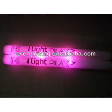 pink color LED foam stick whole sell 2016