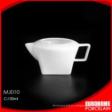 jarra de leche de Chaozhou fábrica china porcelana fina bolsa venta por mayor