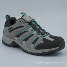 Genuine Leather Men Hiking Shoes with Waterproof