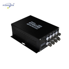 Conversor video da fibra ótica de 8 canais, fibra ótica digital ao conversor análogo