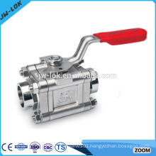 Compression spring loaded 3000 psi ball valve