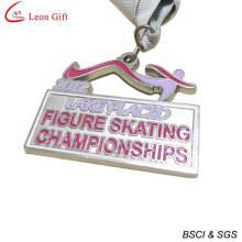 Medalla del Campeonato del patinaje artístico sobre hielo personalizado (LM1259)