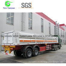 High-Pressure CNG Tube Hydraulic Filling Staion Semi Trailer