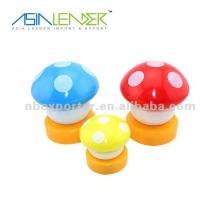 Colorido hongo llevó luz táctil