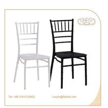 alta calidad buen precio bambú pp silla apilamiento boda