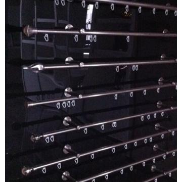 Trilha da cortina de alumínio e calhas