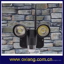 720p Водонепроницаемый беспроводной светодиодный свет pir камера / беспроводной видеонаблюдения с детектором действий монитор ZR720