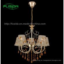 Moderna lámpara colgante de cristal / lámpara de vidrio (d-9302/5)