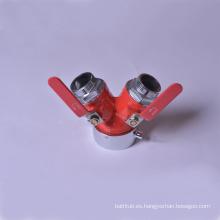 Válvula de aterrizaje de la boca de incendio