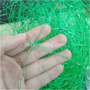 150mmx170mm green knotless trellis support net