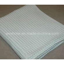 100% Soft Organic Waffle Cotton Blanket