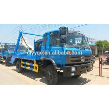 Dongfeng 4 * 2 camión basculante brazo oscilante con sistema hidráulico