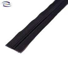 Top quality 5# nylon zipper rolls long chain customised zippers