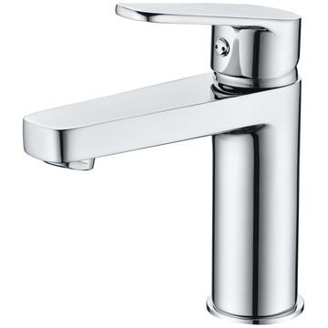 Chrome Single Handle Bathroom Basin Faucets Washbasin Mixer