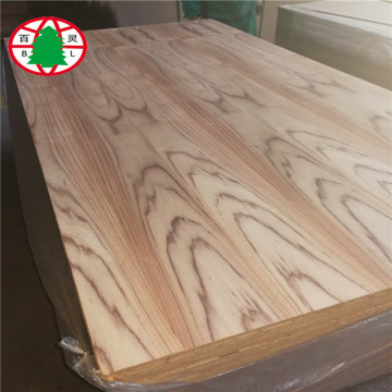 Muebles chapa mdf 14 mm con chapa de madera natural