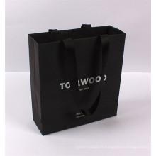 chine fabrication shopping fournisseur de sac en papier avec poignée