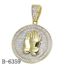 Novo design de moda jóias pingente de prata 925