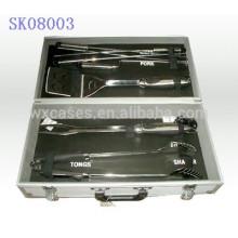 strong&portable aluminum BBQ tool box