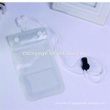Haute qualité fermeture à glissière PVC imperméable à l'eau sèche cartable