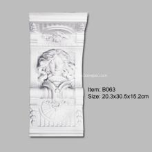 Polyurethane Exquisite Statue Corbel
