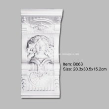 Полиуретановая Изысканная Статуя Корбель