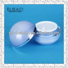 Ball Form Acryl Kosmetik Glas Verpackung 50g