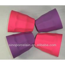 ESPECIAL silicone acabado New Bone China Mug for BS131225E