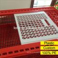 Новые Пластиковые скот курица Транспорт клетка для продажи