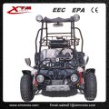 9HP adultos asiento dos Pedal va Kart con sistema de frenos
