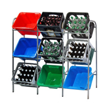 Simple Design Detachable Storage Beverage Display Shelf